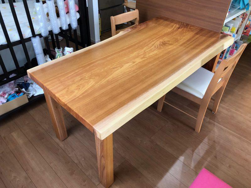 欅 テーブル 納品事例