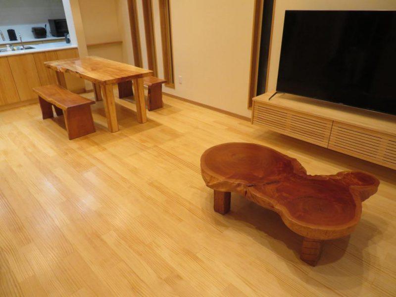 天然木家具(栃、欅、胡桃) 納品事例