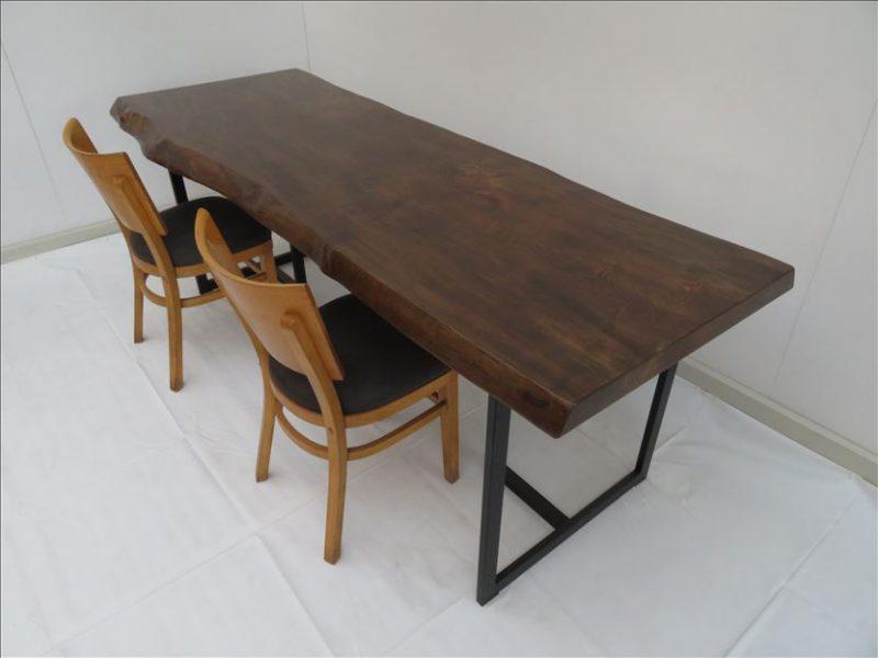 トチ 一枚板テーブル (TOC-001)  価格;240,000円