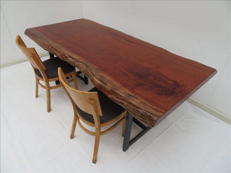 サペリ 一枚板テーブル  (SA-001) 価格;280,000円
