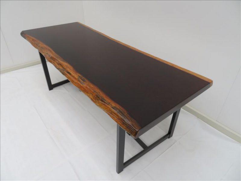 ウェンジ 一枚板テーブル (TG-001)  価格;売約済み