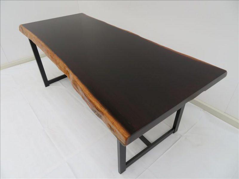 ウェンジ 一枚板テーブル (TG-002) 価格;250,000円