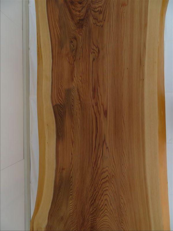 スギ 一枚板テーブル(SUO-001)  価格;170,000(円)