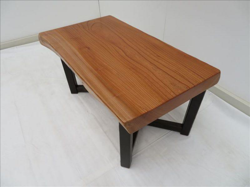 ケヤキ ソファーテーブル(KKE-006) セール価格;35,000(円)