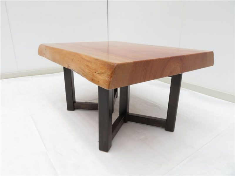ケヤキ ソファーテーブル(KKE-004) セール価格;35,000(円)