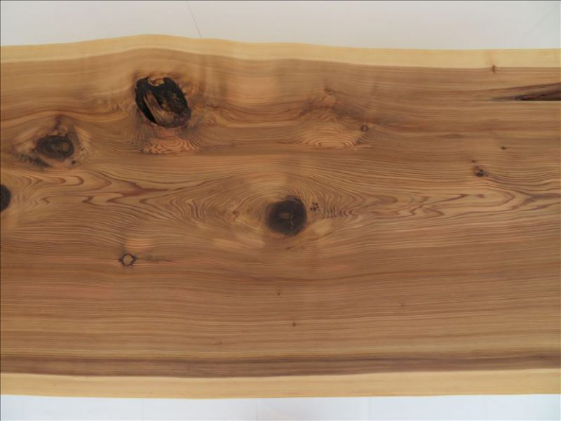 スギ 一枚板テーブル(SUO-003)  売約済み