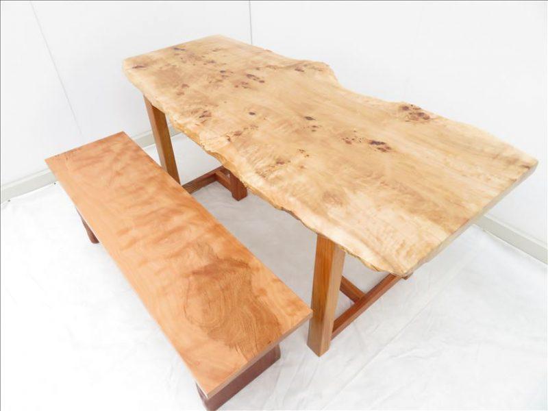 ポプラ 一枚板テーブル (POR-001)  価格;250,000円