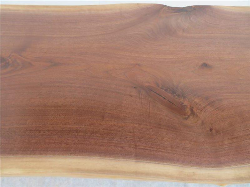 ウォールナット(BW-003) 一枚板テーブル 価格;180,000円