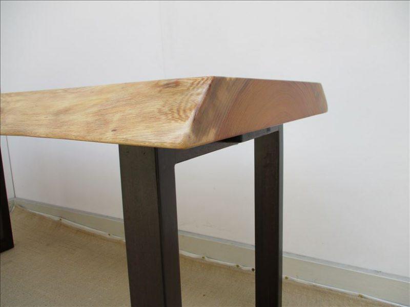 ケヤキ 一枚板テーブル (KE-015) 価格;120,000円