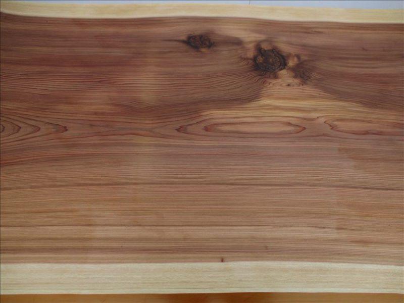 スギ 一枚板テーブル(SUO-005)  価格;280,000円