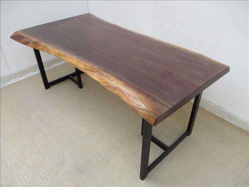 ウォールナット(BW-006) 一枚板テーブル 価格;370,000円