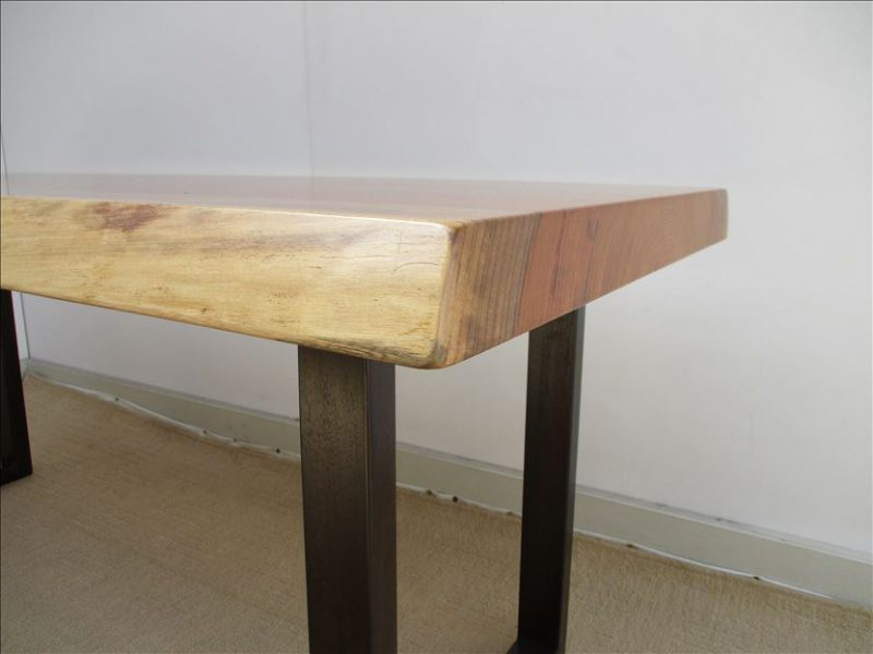 ケヤキ 一枚板テーブル (KE-014) 価格;160,000円