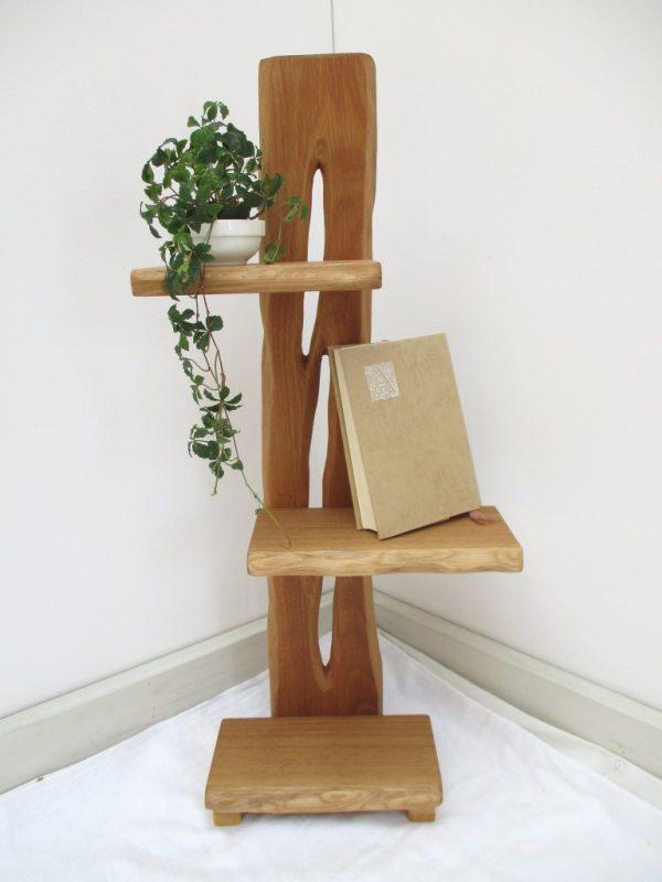 ナラ 天然木 ナチュラルウッドシェルフSN-001 売約済み