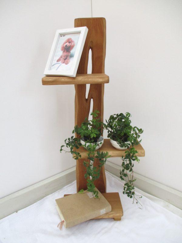 ナラ 天然木 ナチュラルウッドシェルフSN-001 価格;18,000円