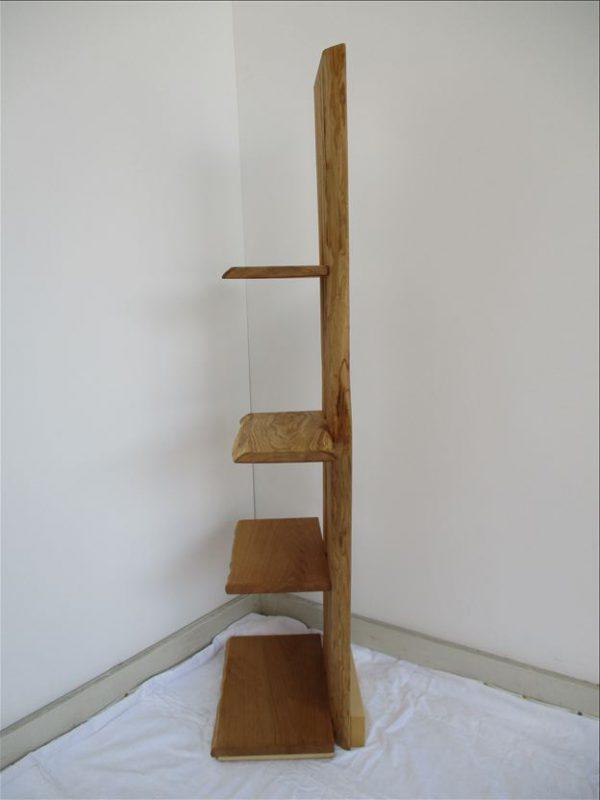 ナチュラルウッドシェルフ 《クリ飾り棚SKH-001》 価格;65,000円