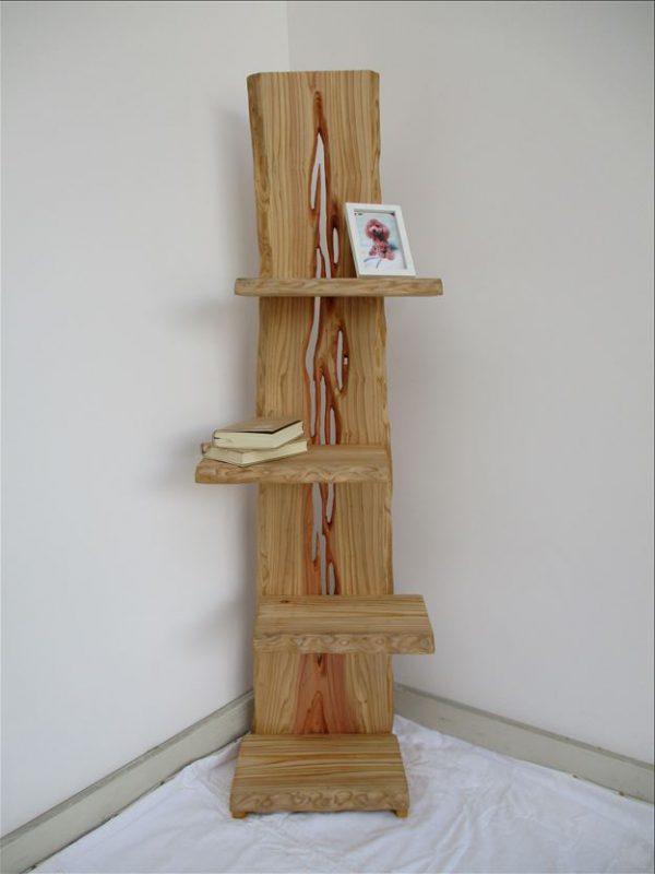 杉 天然木 ナチュラルウッドシェルフSSH-001 価格;65,000円