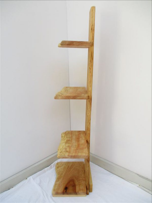 杉 天然木 ナチュラルウッドシェルフSS-001 価格;54,800円