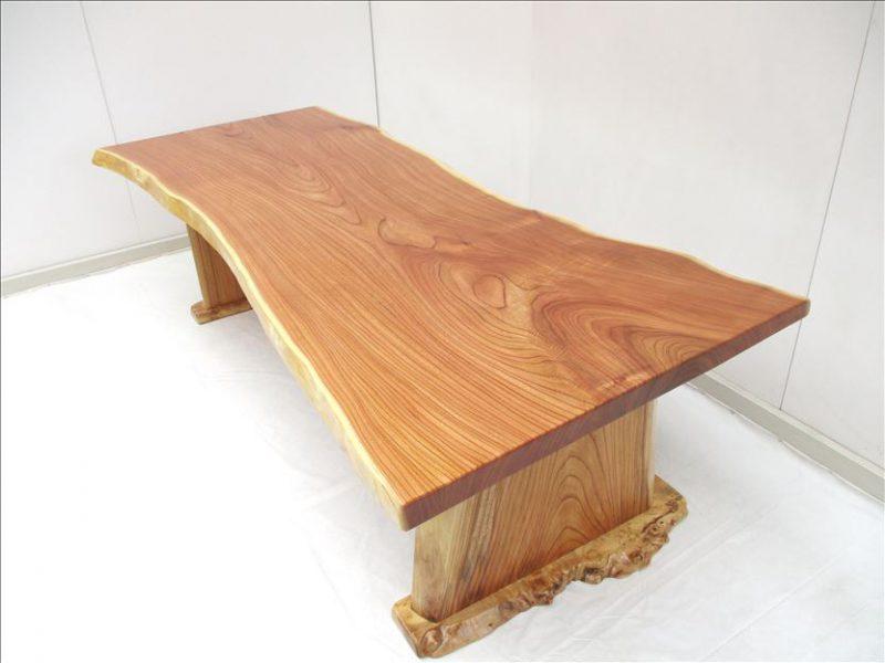 センダン 一枚板テーブル (SD-001)  価格;600,000円