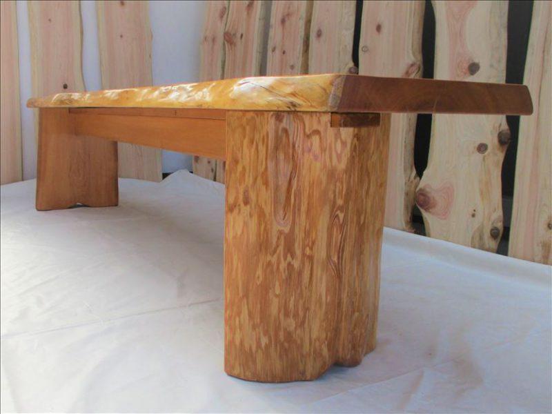 オノオレカンバ ロングベンチ(B-OR-001)  価格;60,000円