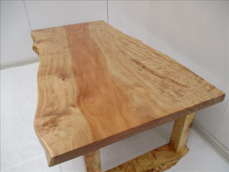 トチ 一枚板テーブル (TO-010)  価格;850,000円